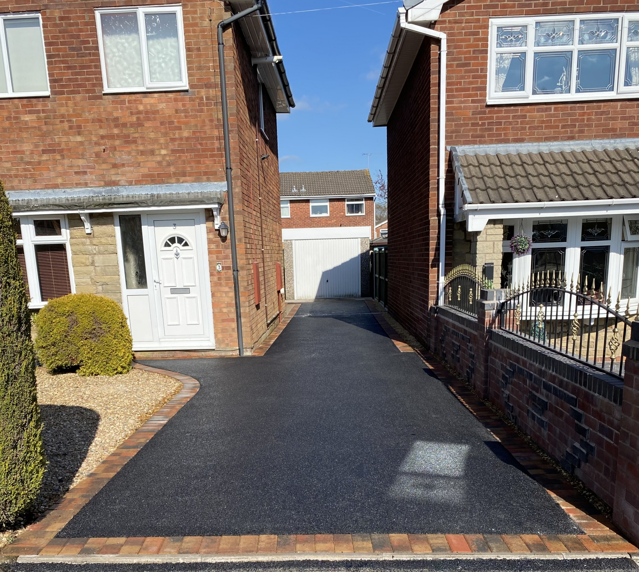tarmac drive completed in Stoke