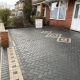 block paving driveway in Newcastle-under-Lyme