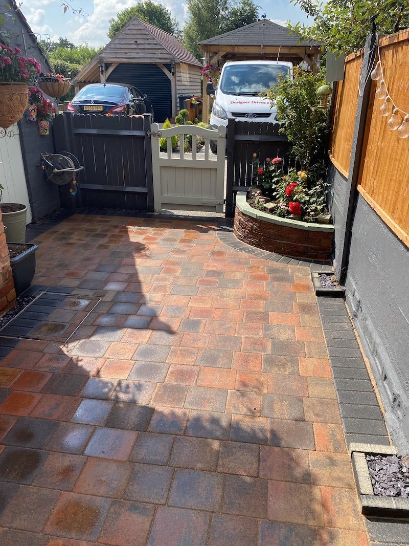 block patio
