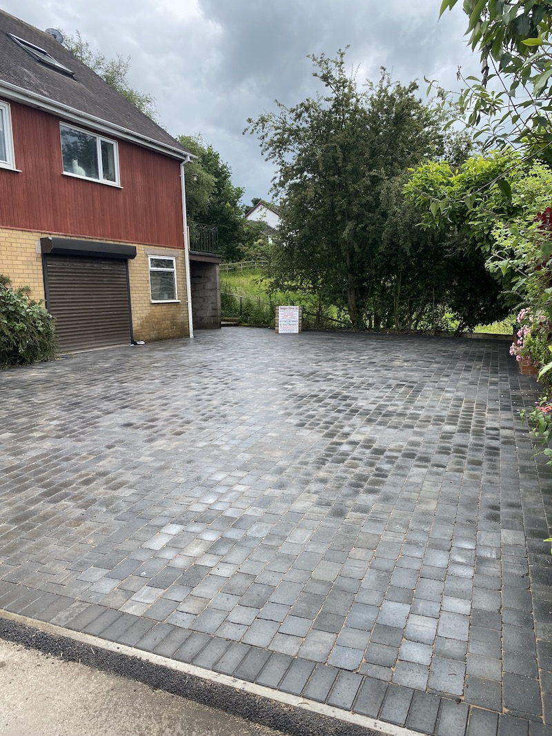 block paving near Stoke on Trent